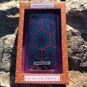 FREE W/ PURCHASE-NWT Jonathan Adler IPhone 5 Case